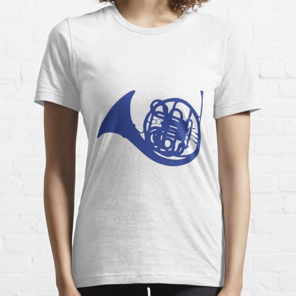 Blue French Horn Essential T-Shirt