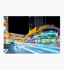 Dizengoff Center Tel Aviv Photographic Print