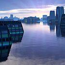 Blue Dawn by Hugh Fathers