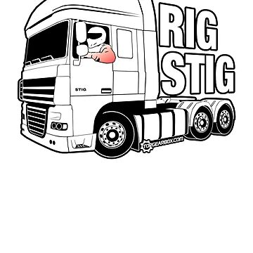 Top Gear - Rig Stig. The Stig's Lorry Driving Cousin by TopGearbox