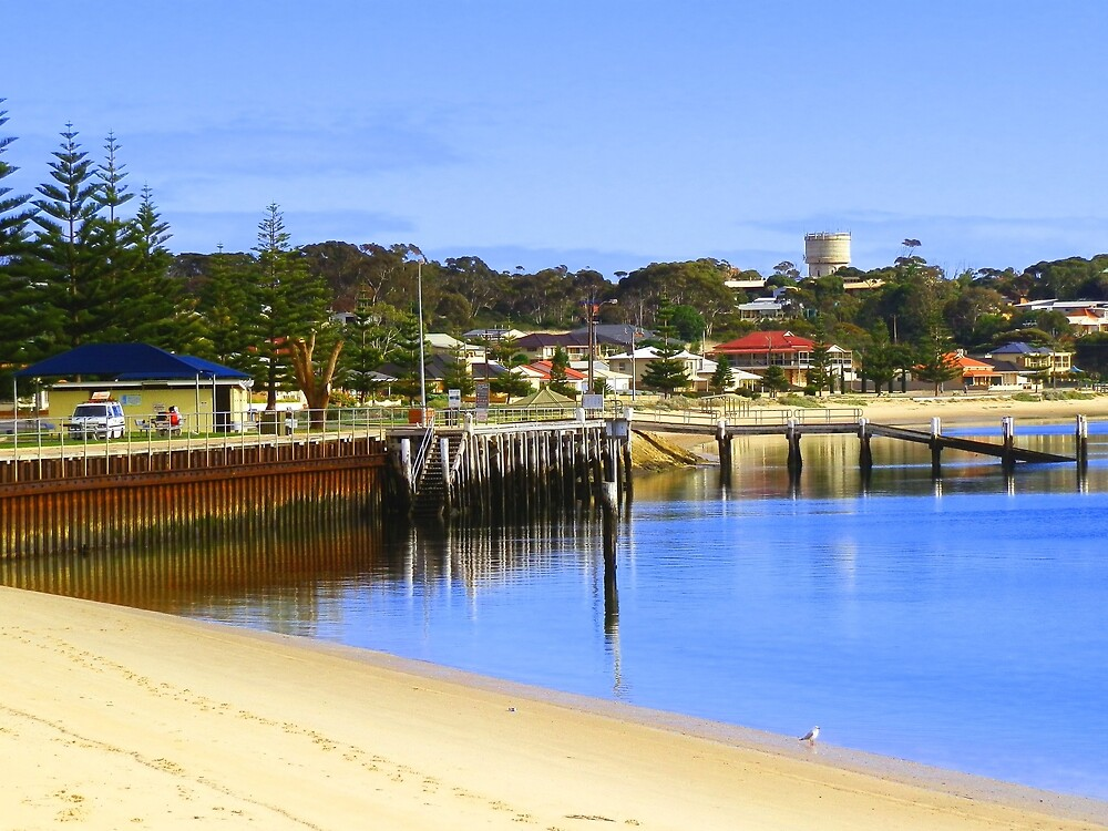 Jetty at Port Vincent by RedNomadOZ