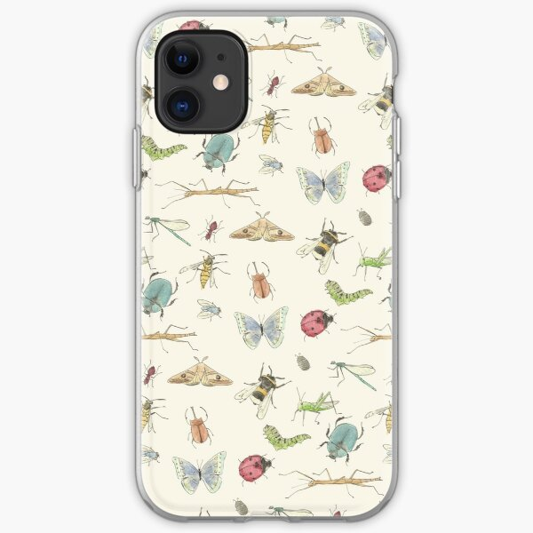 Insect Pattern iPhone Soft Case