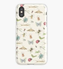 Insect Pattern iPhone Case