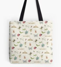Insect Pattern Tote Bag