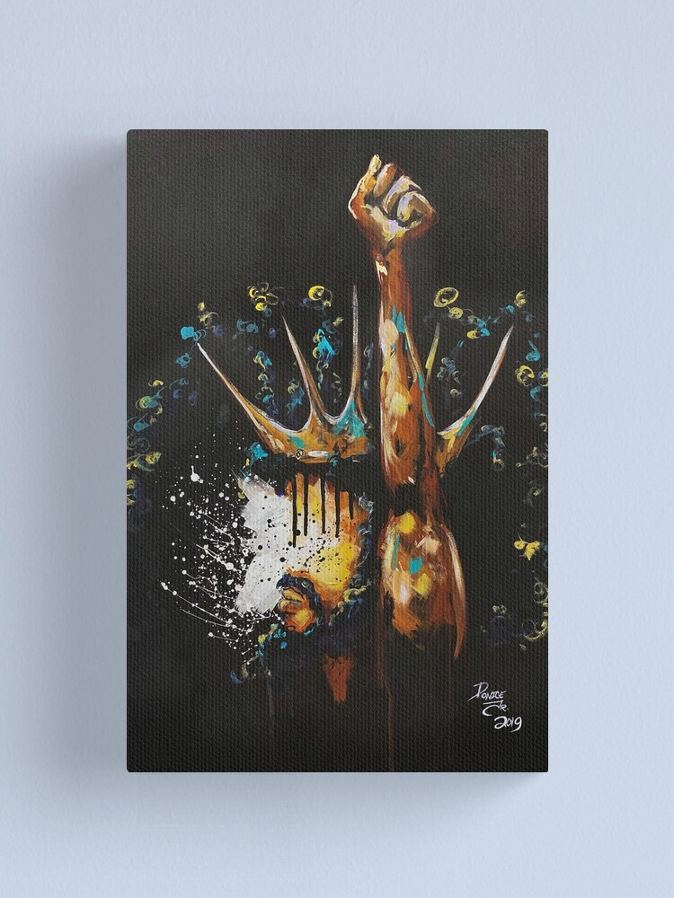 Alternate view of Naturally King V Canvas Print