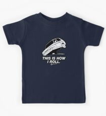 """Top Gear - Reliant Robin """"This is how I roll."""" Kids Tee"""