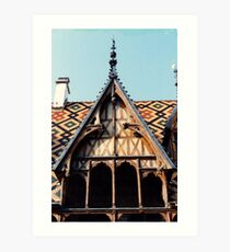 Hospices de Beaune Art Print