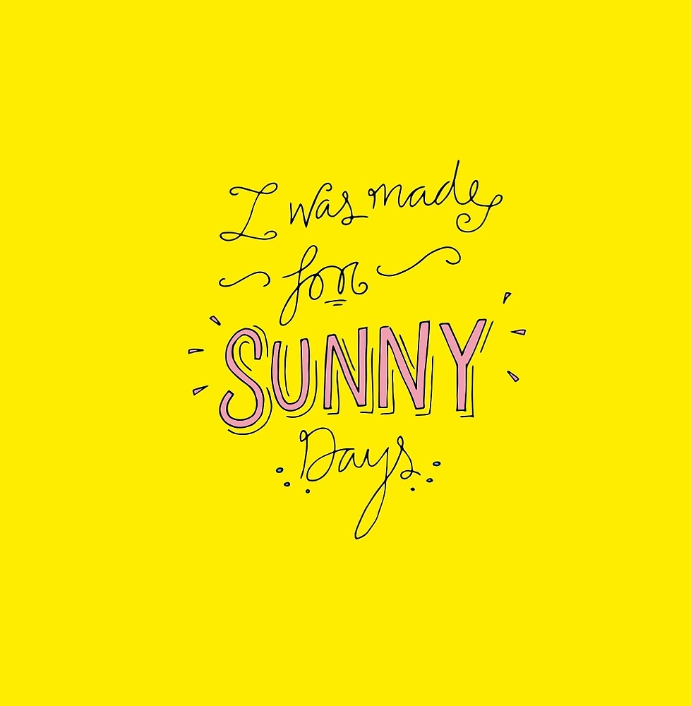 Sunny Days by Holly Astle
