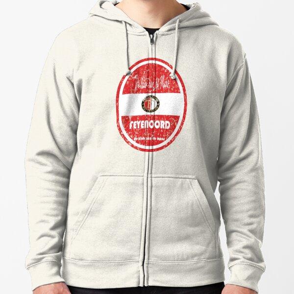 Eredivisie - Feyenoord Rotterdam (Distressed) Zipped Hoodie
