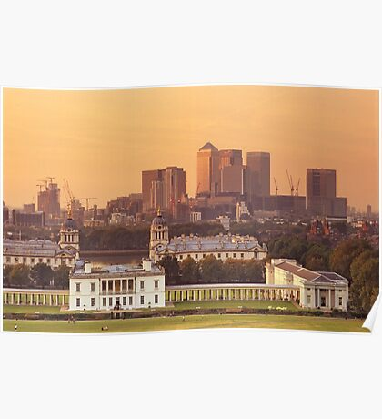 Maritime Greenwich and the Isle of Dogs Poster