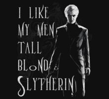I Like My Men... Draco (Vintage - B&W)