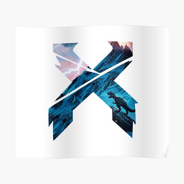 X Edm logo Poster