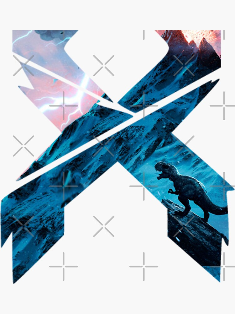 X Edm logo by TripoffGeloEDM