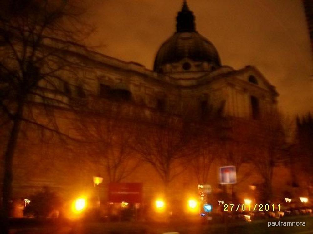 London: Famous Buildings: Holy Trinity Church, Brompton -(270111)- Praktica DPix 1000z 10MP by paulramnora