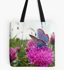 Butterfly & Clover Tote Bag