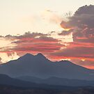 Twin Peaks Longs Meeker August Sunset 2 by Bo Insogna
