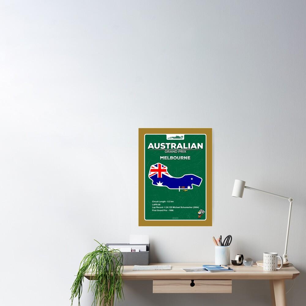 Australian Grand Prix Poster