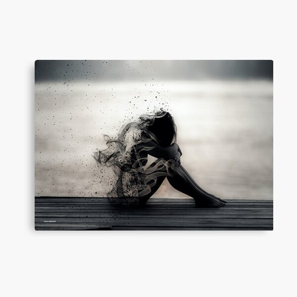 Vapours of Sadness Canvas Print