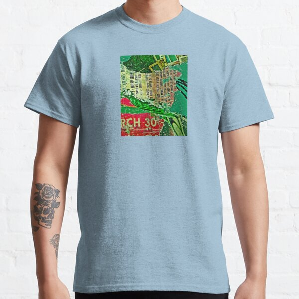 Urban Street Poster Collage / Decollage Classic T-Shirt