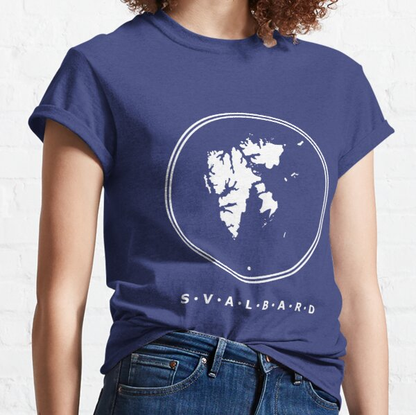 Svalbard From Above Classic T-Shirt