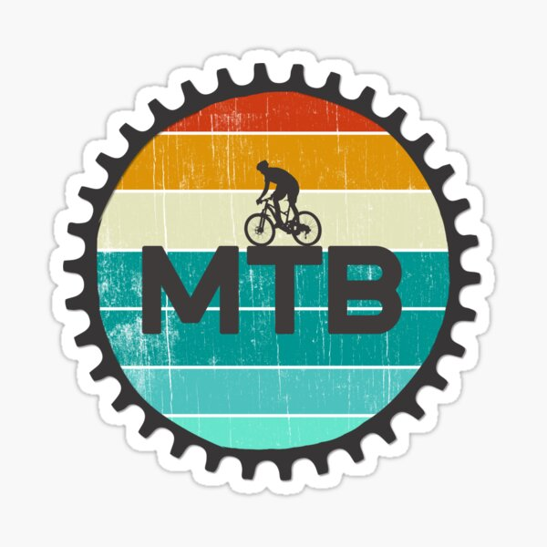 Mountain Bike Stickers x2 stickers HUCK IT OR F*** IT Waterproof
