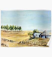 Free State Landscape Poster