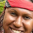 0014 Aboriginal Smile by DavidsArt