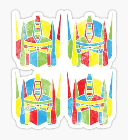 Pop-Artimus Prime Sticker