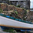 Turquoise Boat by Paul Gibbons
