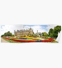 National Trust Waddesdon Manor House Panorama Poster