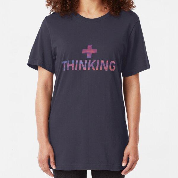 Positive Thinking Slim Fit T-Shirt