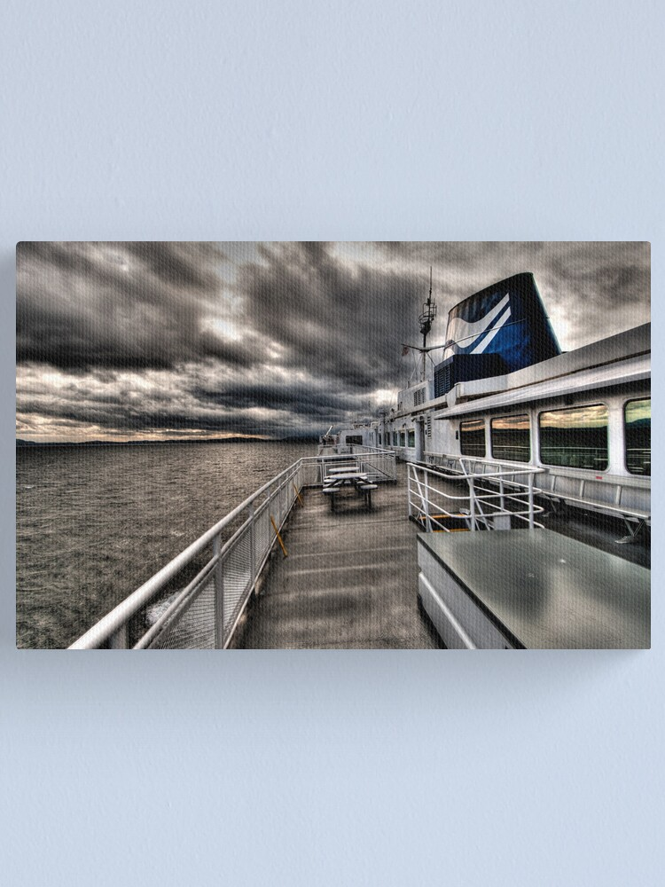 Alternate view of No Hands on Deck Canvas Print