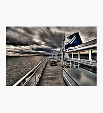 No Hands on Deck Photographic Print
