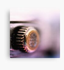 Batteries included Canvas Print