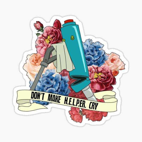 Venture Bros Helper With Flowers Sticker