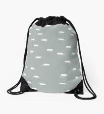 Geometric blocks seamless pattern Drawstring Bag