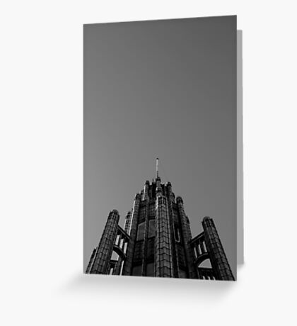 Looking Up - Manchester Unity Building Greeting Card