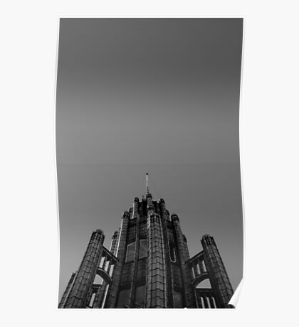 Looking Up - Manchester Unity Building Poster