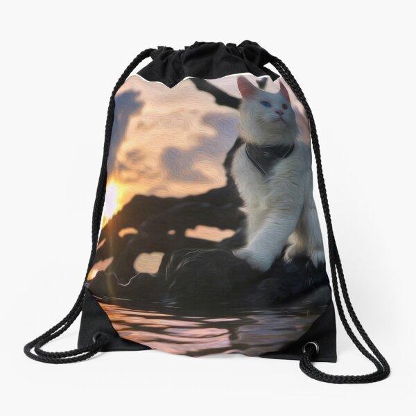Sunset or Sunrise Drawstring Bag