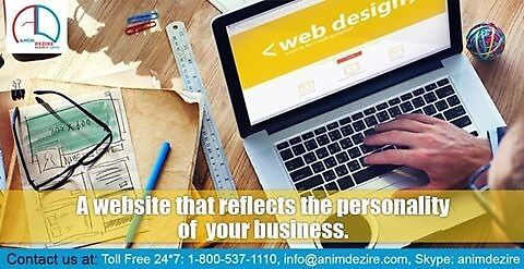Best web design company in  India by animdezire1