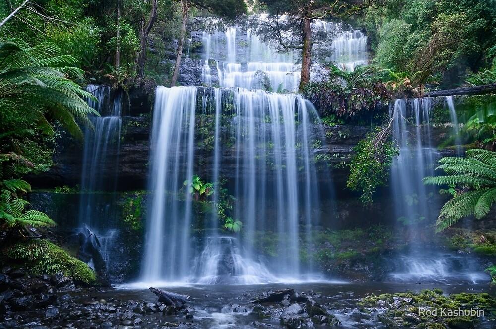 Russell Falls by Rod Kashubin