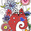 Red Cat  by Barb Leopold