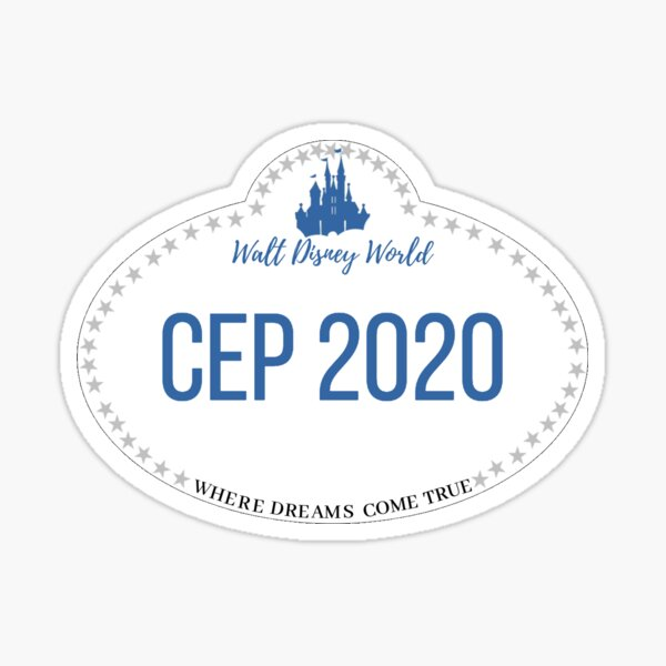 CEP 2020 nametag Sticker