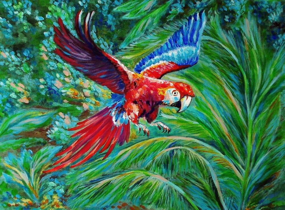 Flying Wonder by VioletSunflower