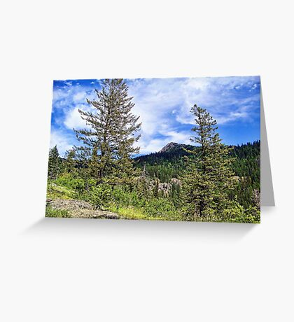 Hall Peak (Bob Marshall Wilderness, Montana, USA) Greeting Card