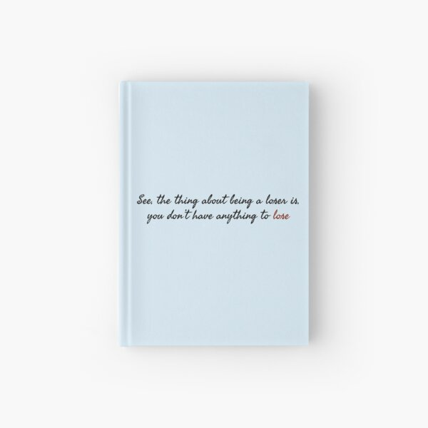 Stanley Uris Losers Quote It Chapter Two Hardcover Journal
