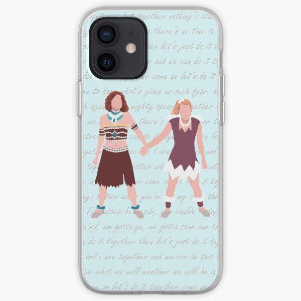 """Firebringer """"Together"""" with lyrics background iPhone Soft Case"""