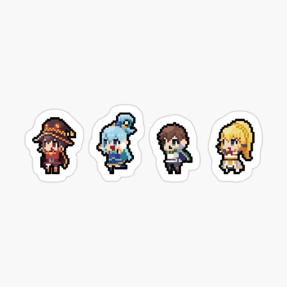 Isekai Quartet Konosuba Travel Mug By Becca3d Redbubble