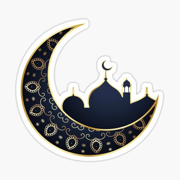 Islam Crescent Moon Sticker