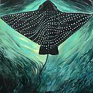 Eagle Ray I by Miesha